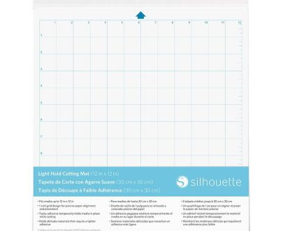 silhouette cameo cutting mat light hold