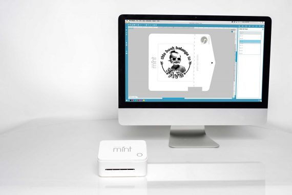 silhouette mint™ custom stamp maker - computer software