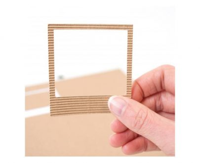 silhouette adhesive corrugated paper - frame