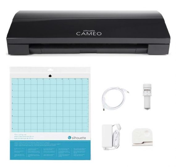 silhouette cameo® 3 black all contents