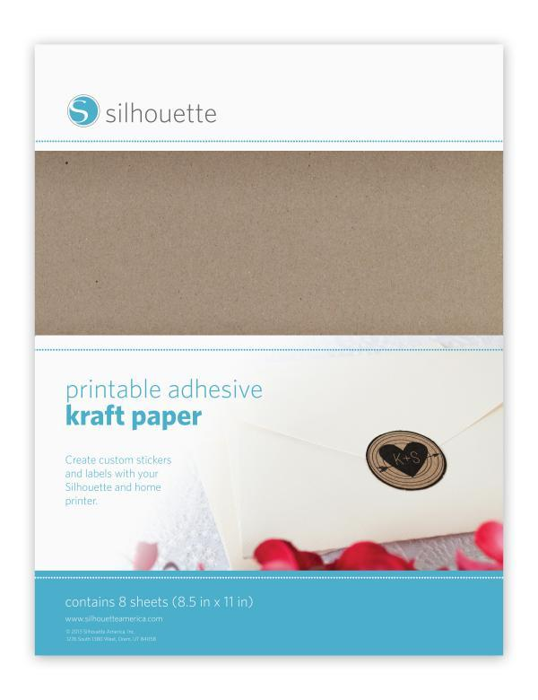 Silhouette Printable Sticker Paper Graphtec Gb