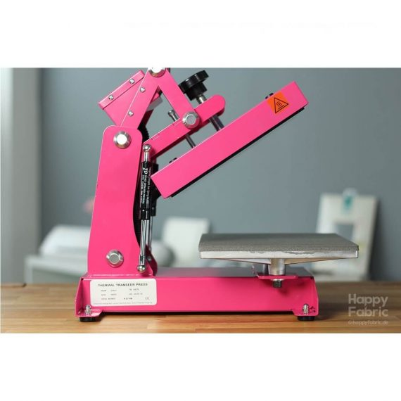 happy fabric happy press 3 - pink - side open