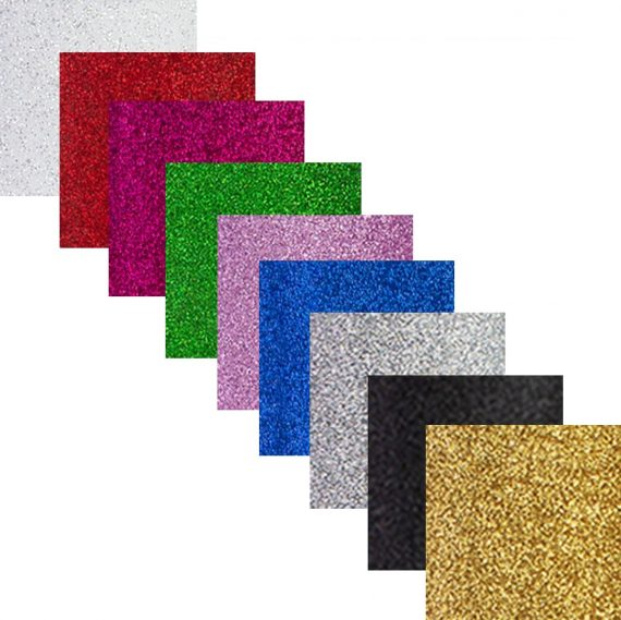 silhouette glitter vinyl - all colours