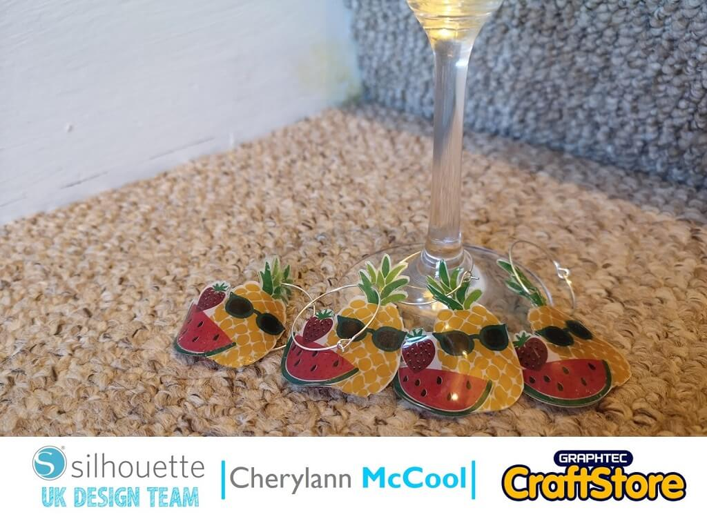 Summer Fruit Wine Glass Charms | Cherylann McCool | Silhouette UK Blog