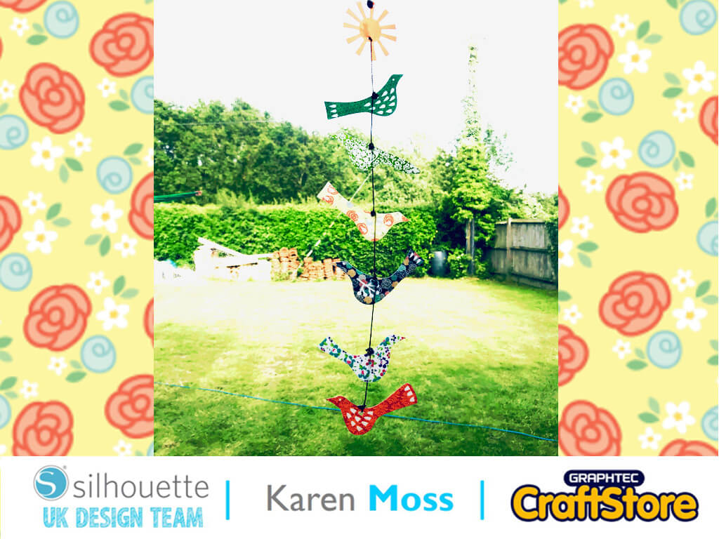 Summer Sun Catcher | Karen Moss | Silhouette UK Blog