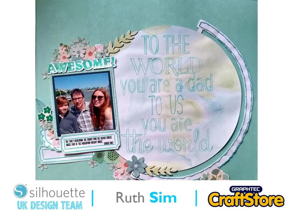 silhouette uk blog- ruth sim - fathers day card - main