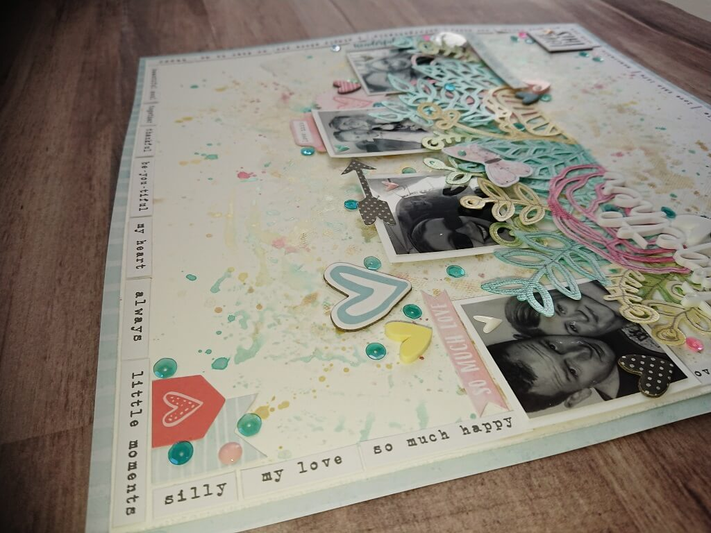 silhouette uk blog - stephanie squires - scrapbooking with steph - together - c1