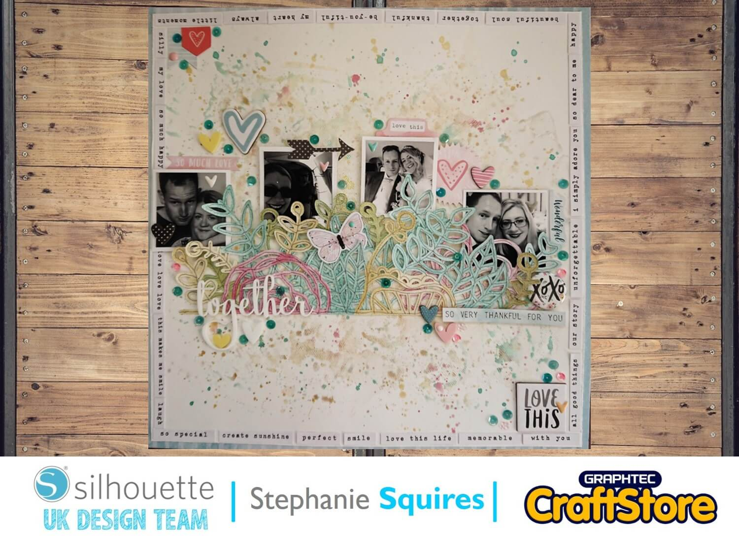 silhouette uk blog - stephanie squires - scrapbooking with steph - together - main