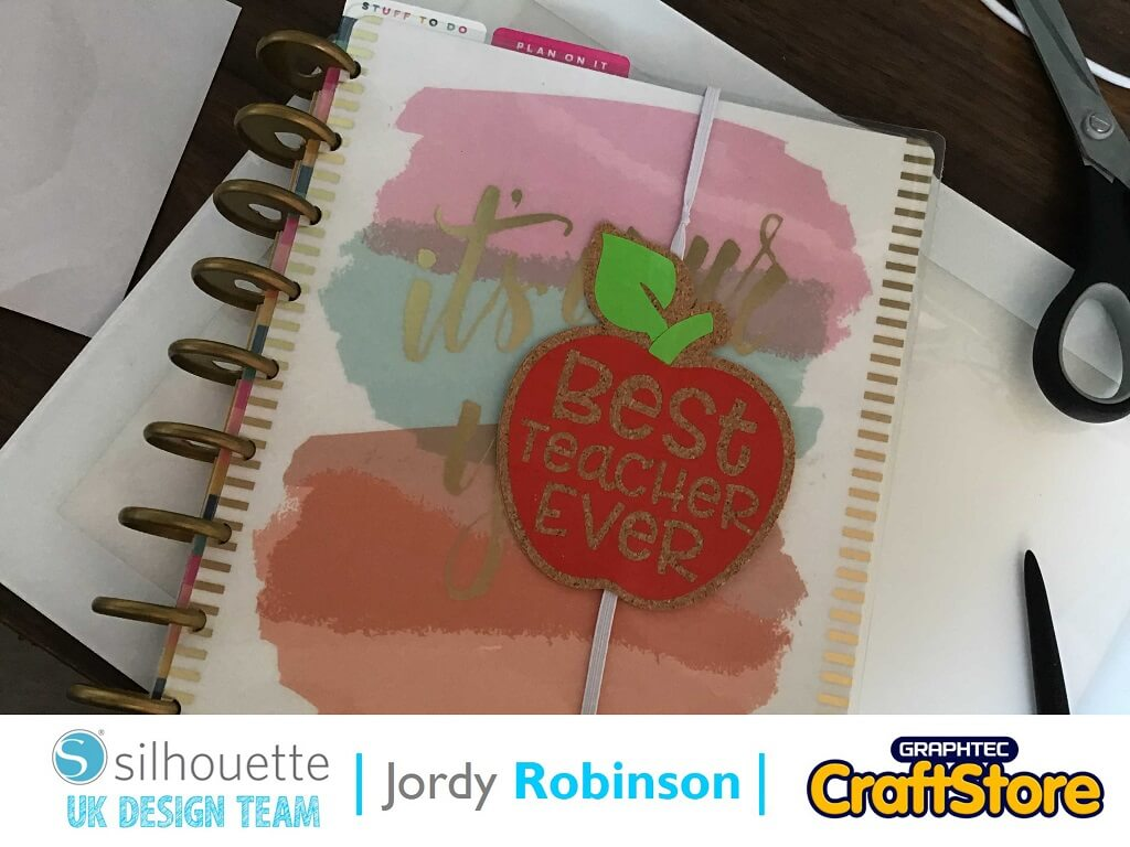 silhouette uk blog - jordy robinson - teacher appreciation - cork sheets - complete
