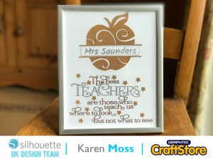 silhouette uk blog - karen moss - cork teachers gift - cork sheets - main