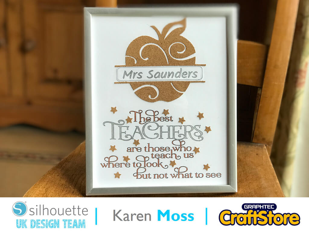 School Teacher's Gift | Karen Moss | Silhouette UK Blog