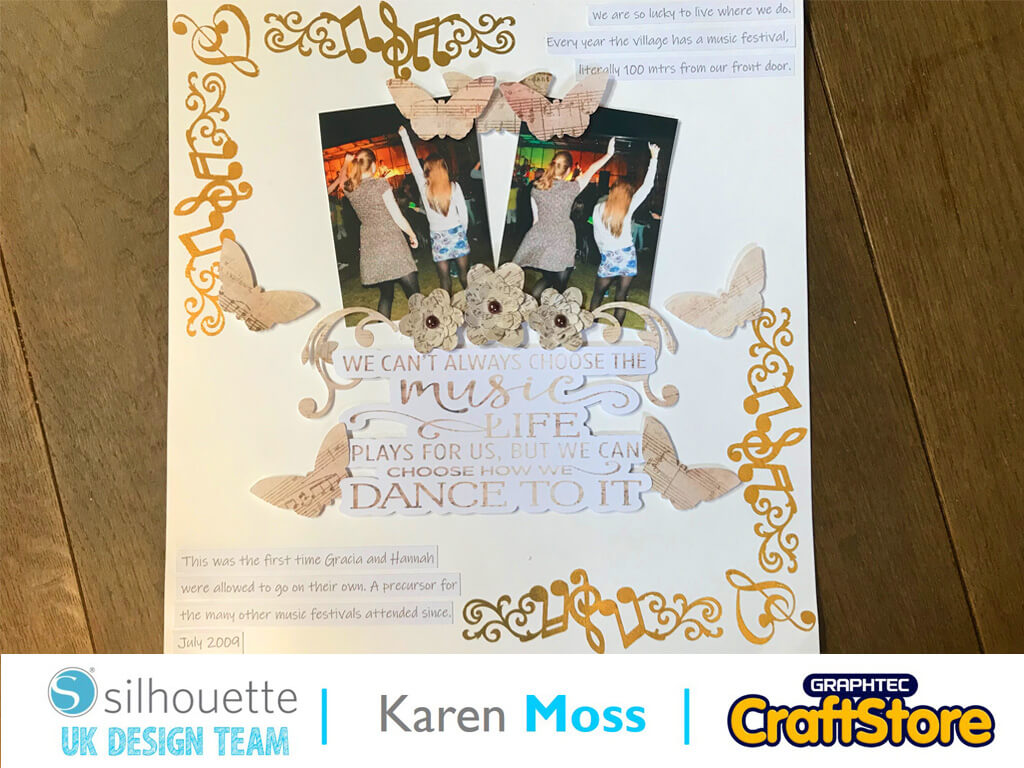 silhouette uk blog - karen moss - tattoo paper festival layout - completed