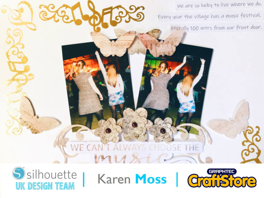 Tattoo Paper Festival Layout | Karen Moss | Silhouette UK Blog