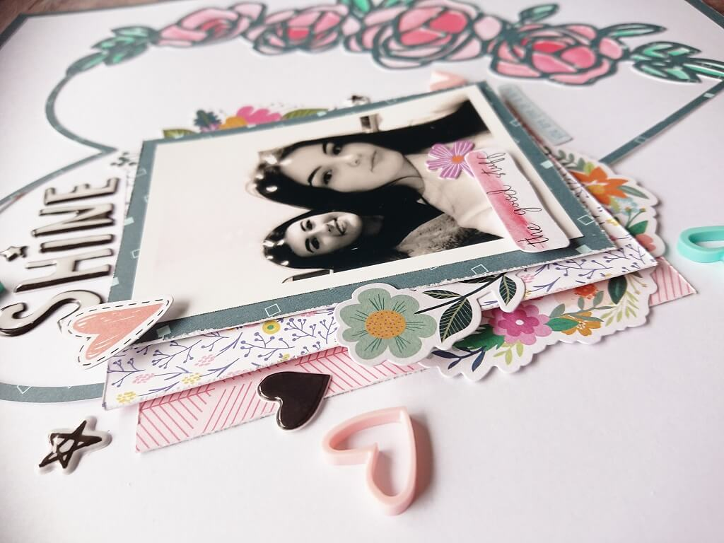 silhouette uk blog - stephanie squires - shine - scrapbooking with steph - c3