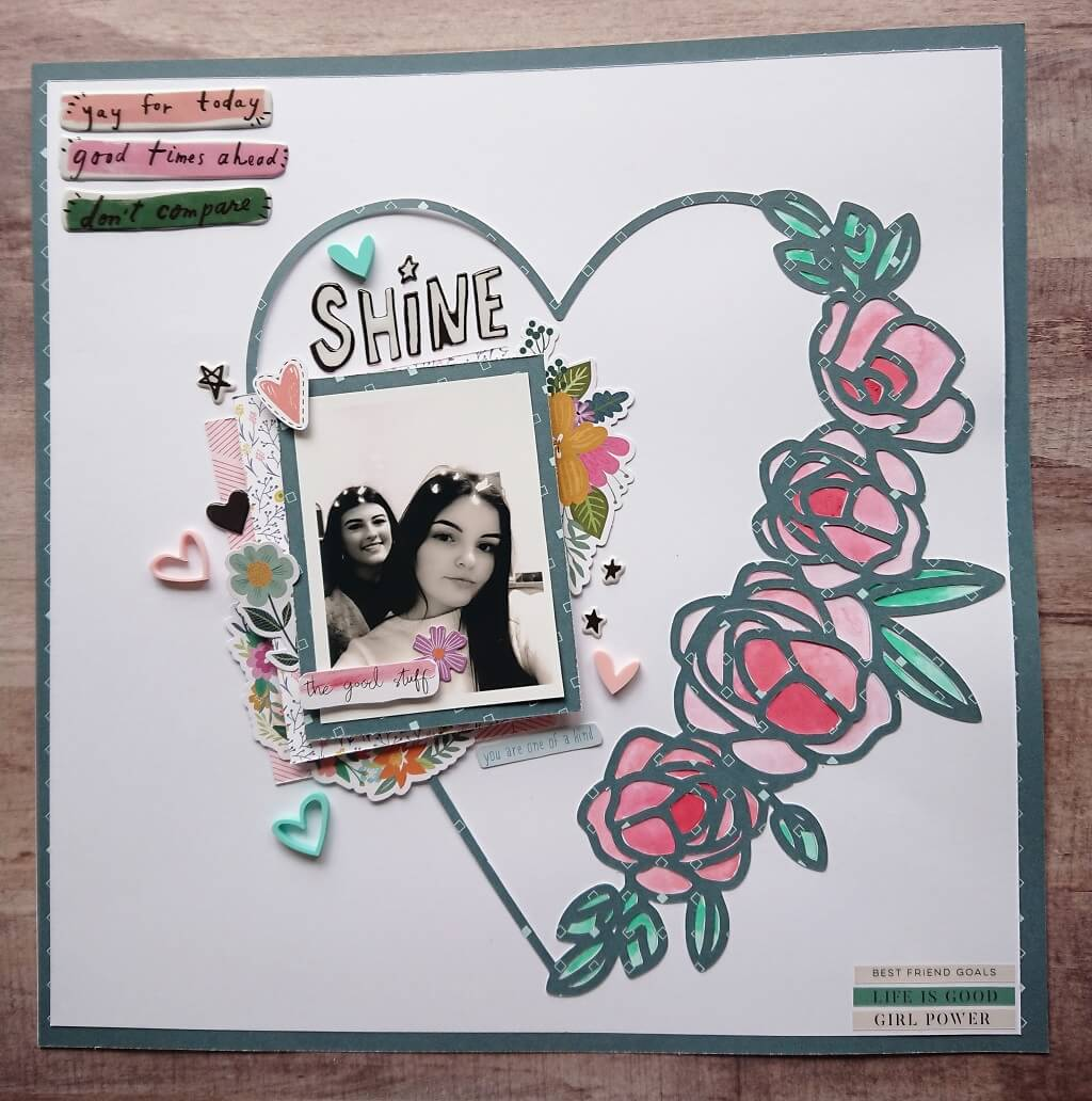 silhouette uk blog - stephanie squires - shine - scrapbooking with steph - main