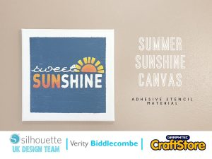 silhouette uk blog - verity biddlecombe - summer sunshine canvas - main