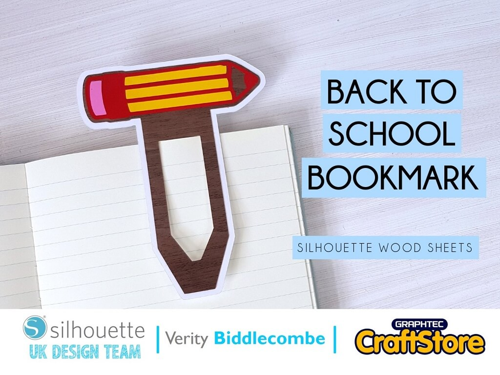 Back-To-School Bookmark | Verity Biddlecombe | Silhouette UK Blog