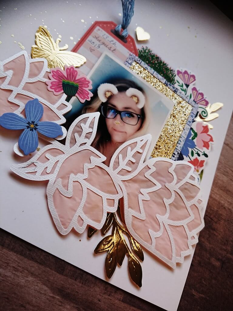 silhouette uk blog - stephanie squires - me myself i - flower layout - c1