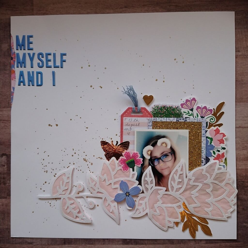 silhouette uk blog - stephanie squires - me myself i - flower layout - complete