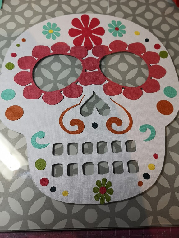 silhouette uk blog - cherylann mccool - festival of the dead - cardstock - c7e
