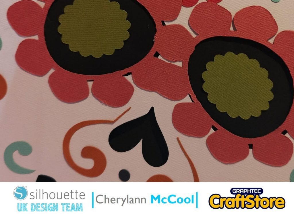 silhouette uk blog - cherylann mccool - festival of the dead - cardstock - cover