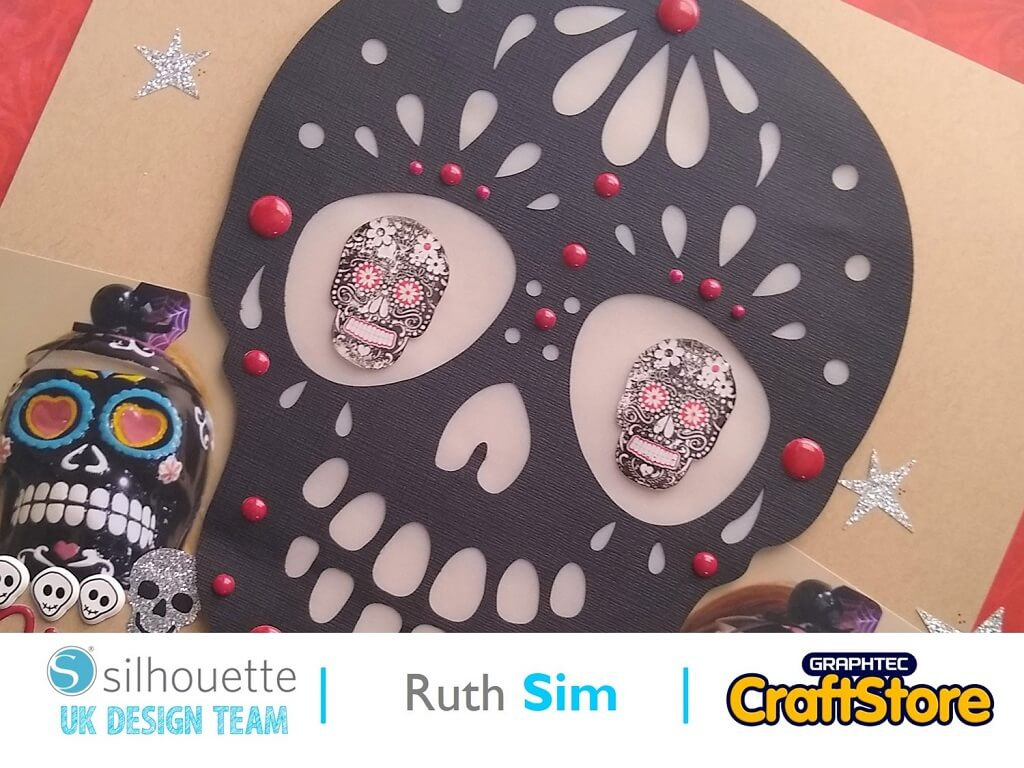 Festival Of The Dead Doming Stickers | Ruth Sim | Silhouette UK Blog