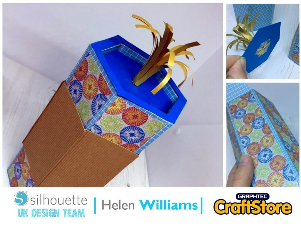 Bonfire Night Firecracker Gift Box | Helen Williams | Silhouette UK Blog
