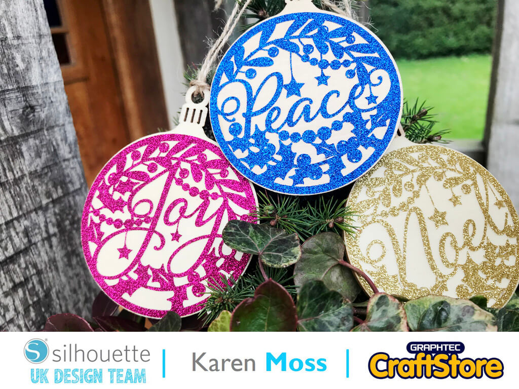 silhouette uk blog - karen moss - wc4819 - glitter vinyl - main