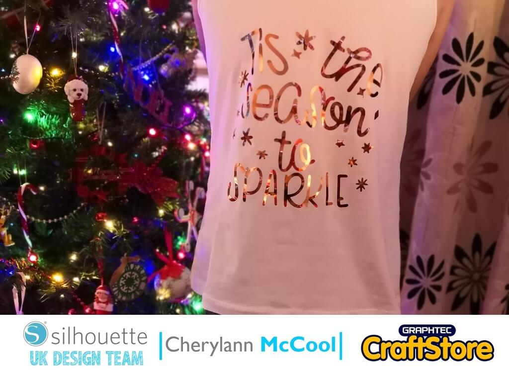 New Year's Eve Party Top | Cherylann McCool | Silhouette UK Blog
