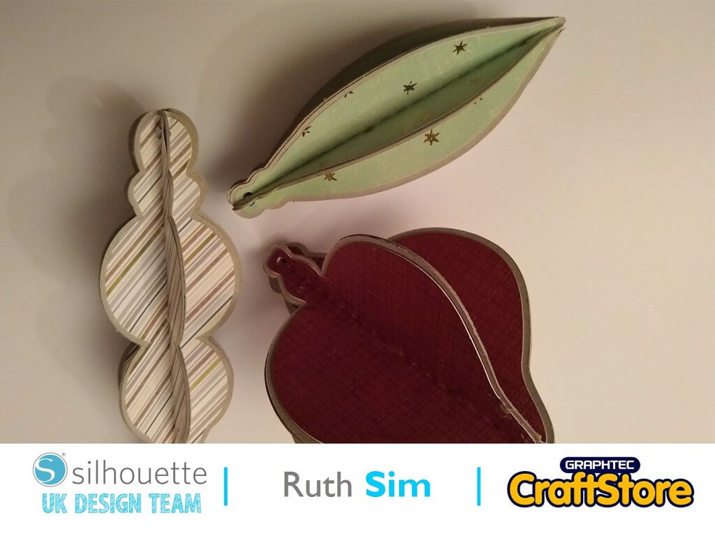 Christmas Tree Decorations | Ruth Sim | Silhouette UK Blog