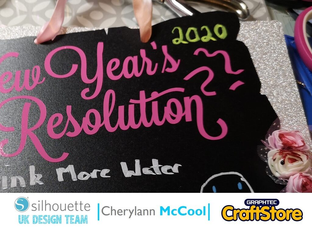New Year Chalkboard To Do List | Cherylann McCool | Silhouette UK Blog
