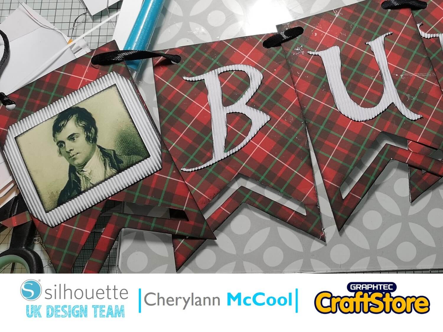 Burn's Night Banner | Cherylann McCool | Silhouette UK Blog