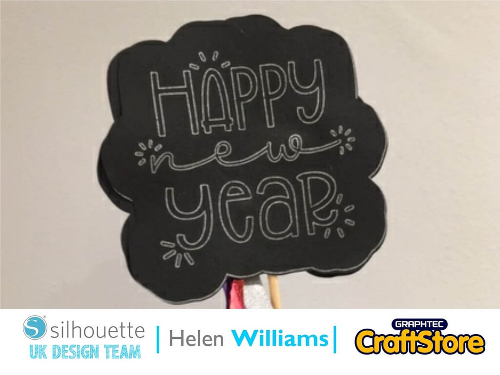 New Year's Eve Wand | Helen Williams | Silhouette UK Blog