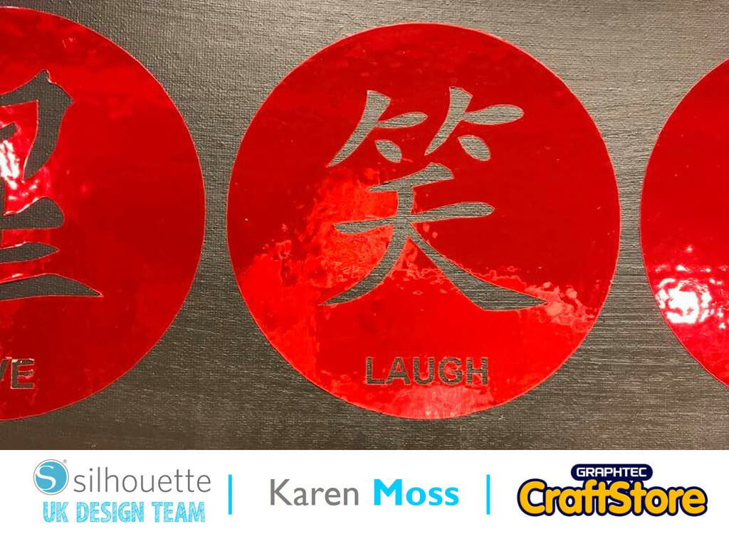 Chinese New Year Canvas | Karen Moss | Silhouette UK Blog