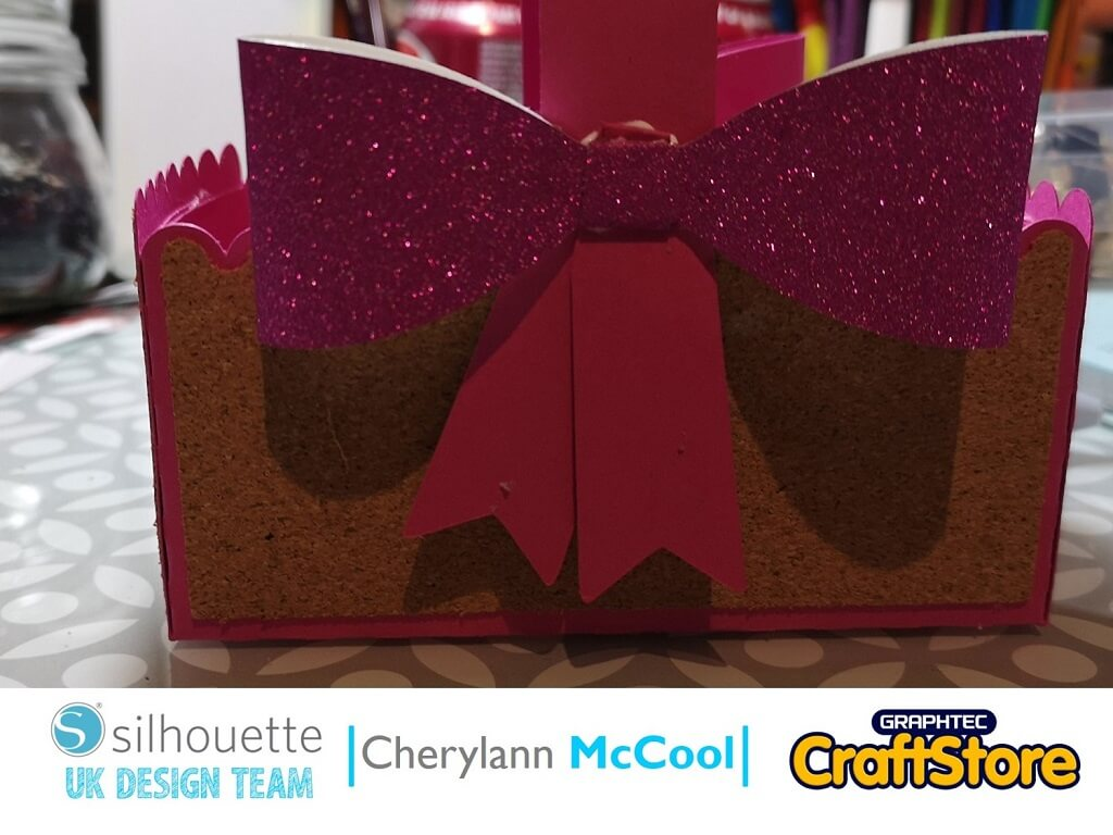 Cork Easter Basket | Cherylann McCool | Silhouette UK Blog