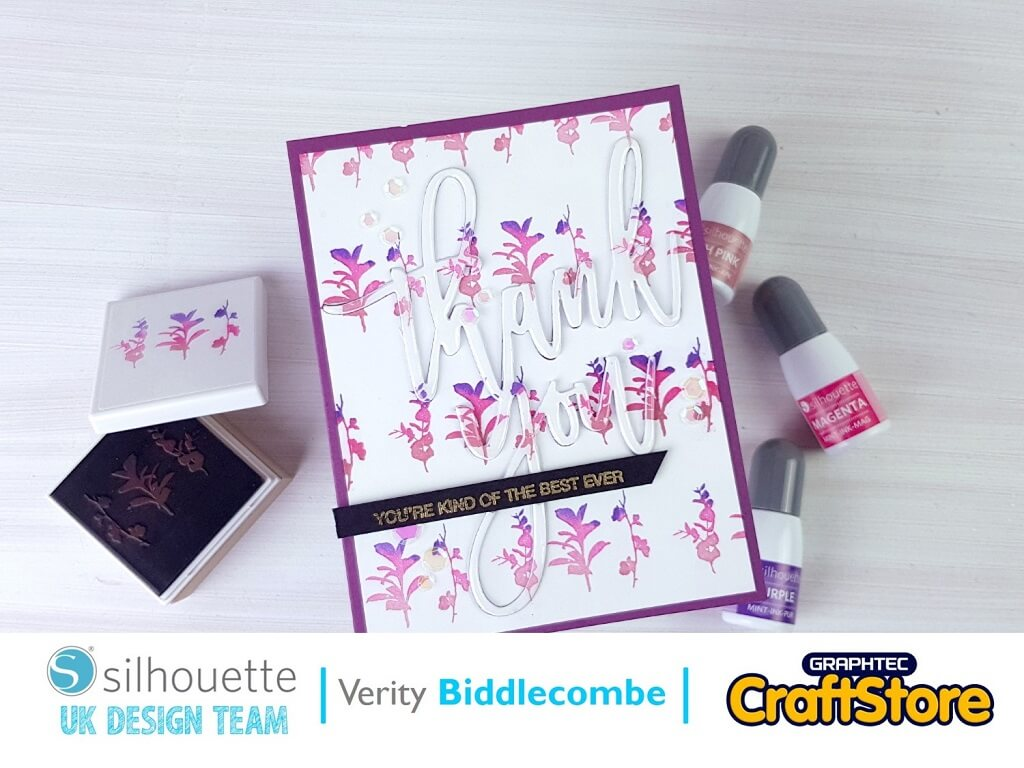 Stamping With Glyphs | Verity Biddlecombe | Silhouette UK Blog