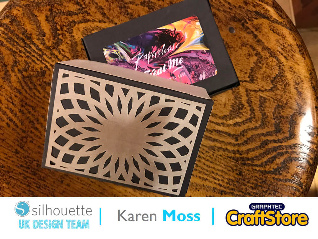 silhouette uk blog - karen moss - wc1220 - wood paper sheets - complete
