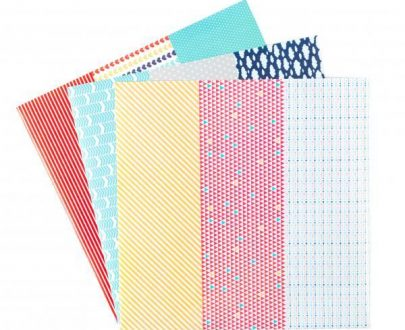 silhouette adhesive washi sheets contents