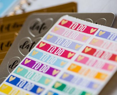 silhouette sticker sampler pack - lifestyle